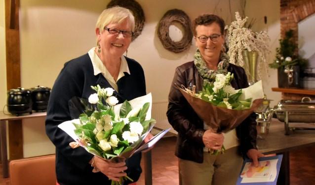 De dames Van Marle (links) en Van Dijk.