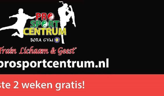 Info : site : prosportcentrum.nl en ook op FB