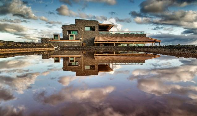 Het gebouw op de winnende foto is het restaurant El Jardin de la Sal op La Palma.