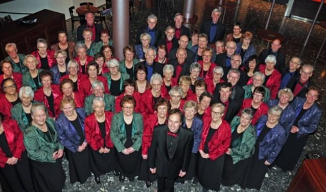 Het koor Cantate Deo.