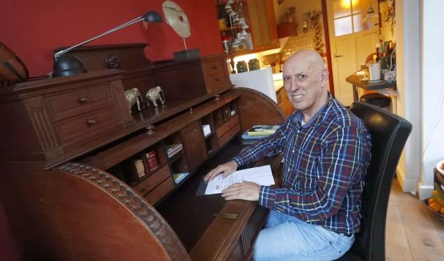 De 66-jarige Frits Jonkers doet het niet om het geld. Hij is al lang tevreden. Foto: Bert Jansen.