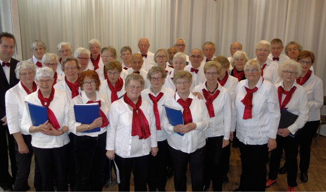 Het 35 jaar jonge koor zingt onder leiding van Peter Ruijs en bestaat uit zangers en zangeressen met leeftijden van boven de 60 jaar.
