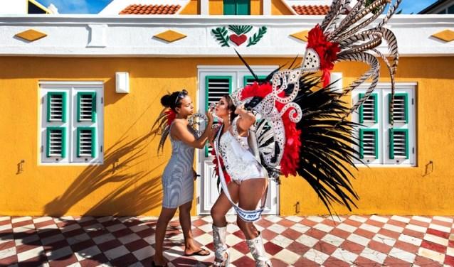 Gezichten van Aruba.