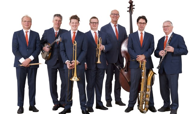 Dutch Swing College Band  vier 100 jaar jazzmuziek. Foto Bas Meijer