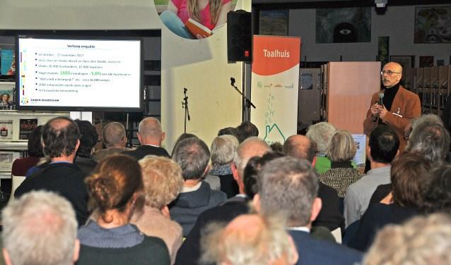 """Presentatie van de enquêteresultaten door Gerrit van den Dool"""""""