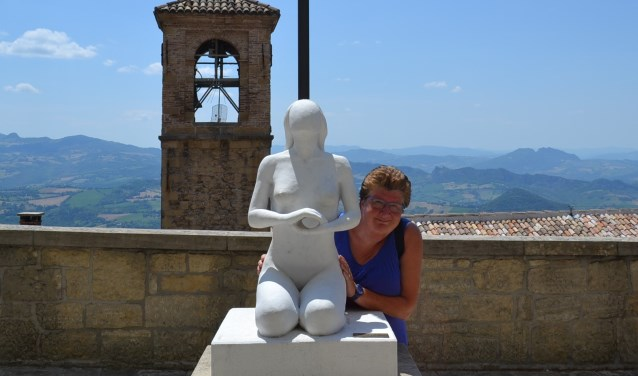 Yvonne Nijmeijer gaat graag met Wolter op vakantie naar Zuid Europa.