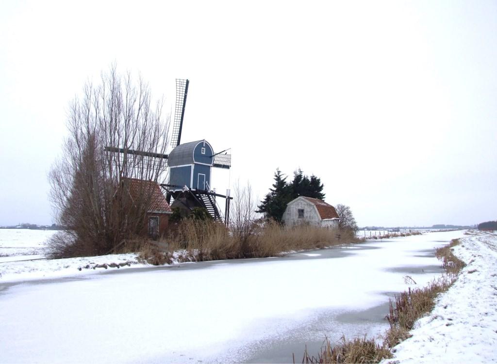 Een winters landschap achter Hazerswoude. Foto: Hans Tamerus © Persgroep