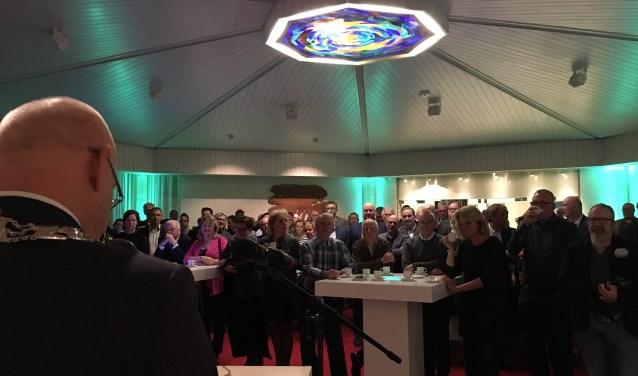 Burgemeester Heijkoop hield maandag 8 januari zijn nieuwjaarstoespraak.