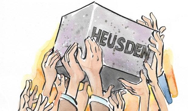 Het motto van DMP Heusden voor de gemeenteraadsverkiezingen op 21 maart 2018 is 'Samen doen, samen sterk!'