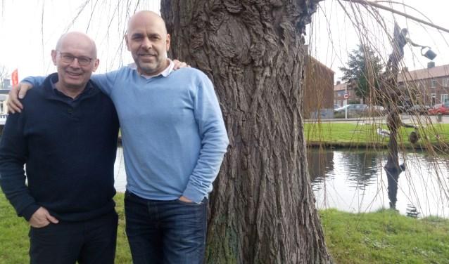 Piet van Die (links) en Matthijs Goederenuurs: met de Johnny Cashdienst het succes van 2013 herhalen. (foto: Ina Florusse)