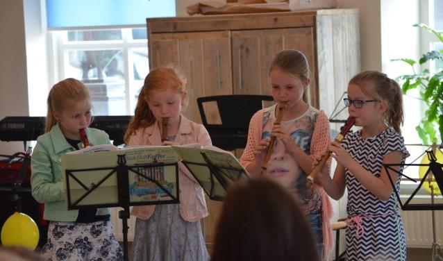 Kinderen kunnen onder andere kiezen voor de cursus 'Proefrondje Muziek'.
