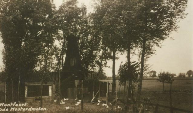 De mosterdmolen in Montfoort of ook wel Molen van der Horst genoemd.