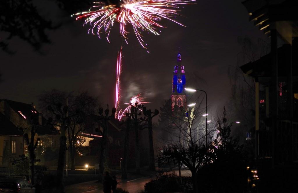 Vuurwerk met de Cuneratoren. (Foto: Jan Bouwhuis)  © Persgroep