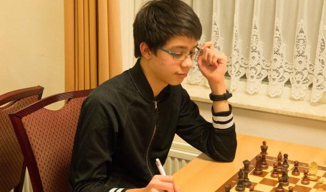 Jeugdschaker Andrew Mensing.