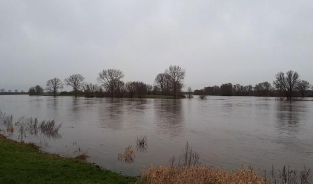 Aanstaande zondag bereikt de hoogwaterpiek naar verwachting 's-Hertogenbosch.