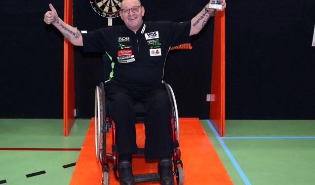 Tweevoudig Nederlands kampioen Arie van der Rassel uit Den Haag is dankzij een wildcard ook van de partij. (Foto: Evert Zomeraag)