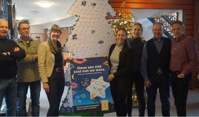 Schijndels wielerteam Tandje Durbijhaalde middels deactie 'Nachtzoentjes' bij McDonald's in Den Bosch 1.230 euroop!