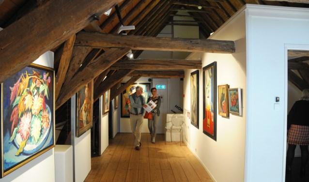 Voor bezoekers is er zondag een rondleiding. (foto: Voerman Museum Hattem)