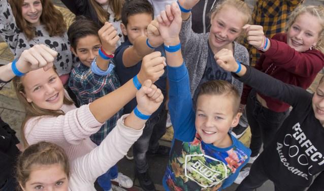 De school viel op door de actieve rol tijdens de landelijke Week tegen Pesten.