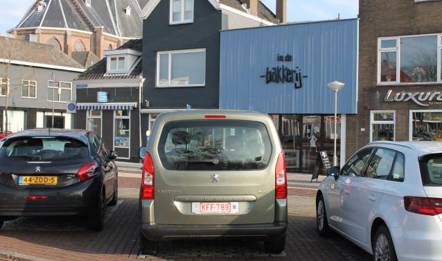 Geen stress of onaangename verrassingen bij digitaal parkeren in Goes. FOTO: Leon Janssens