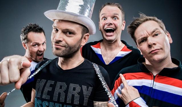 Lekke Band: Een stelletje knotsgekke muzikanten die zo'n beetje alles spelen.