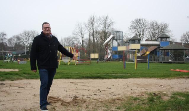 Maarten van den Bosch is apetrots op elke helpende organisatie en actie binnen speeltuin De Kievit. Als we ze allemaal zouden opschrijven, zijn we drie pagina's verder. Foto: GvL