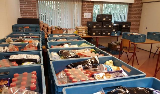 Met de ATOS Winter3Daagse zijn maar liefst 170 kratten met voedsel zijn opgehaald voor de Voedselbank.