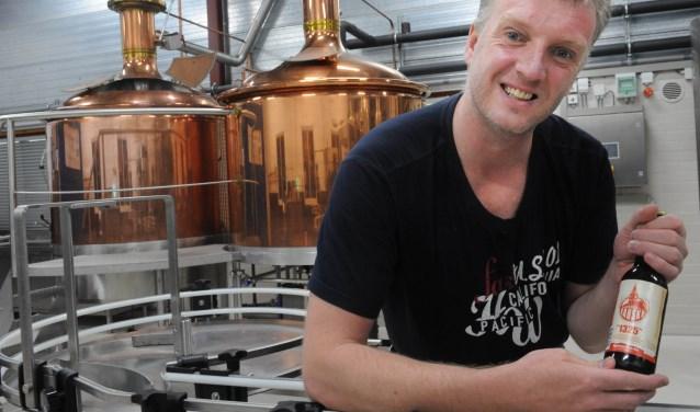 Oscar Moerman brouwt al jaren zijn eigen bier. Archieffoto: Charel van Tendeloo / TC Tubantia