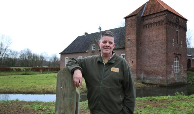 Boswachter Willy van Schipstal uit Escharen bij zijn geliefde Tongelaar (foto: Marco van den Broek)