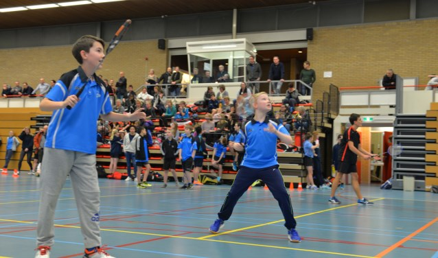 Tachtig spelers deden mee aan het jeugdtoernooi.