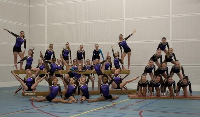 De selectieleden van Gymnastiekvereniging Impala kunnen binnenkort in de nieuwe turnhal verder bouwen aan de toekomst. (Foto: Hetty Heijne)
