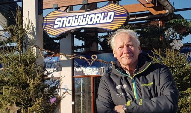 Koos Hendriks wil een surfpool en zwembad toevoegen aan SnowWorld.