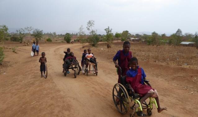 'Kind in Malawi' en 'Aktie voor Aktie' zijn beiden opgericht in Vleuten-De Meern en bereiden een samengaan voor. Eigen foto.