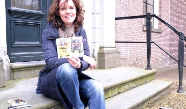 Haar inspiratie haalt Schlijper uit haar dagelijkse leven. FOTO: Manon Roosendaal