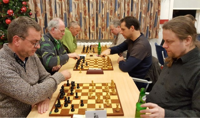 De match van de waarheid: links Arjan Tissink, rechts Hotze Tette Hofstra.