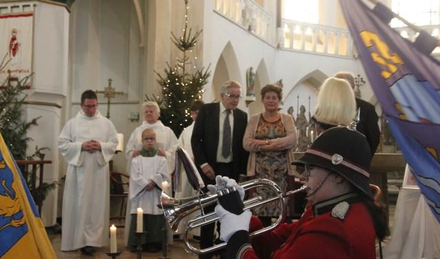 Pastor Bresser was ook geestelijk adviseur van Schuttersgilde St. Switbertus. (Foto's: Eveline Zuurbier)