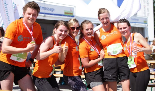 Vrienden van Meander en Toon Hermans Huis zijn dit jaar de goede doelen van de marathon. (Foto: MA)
