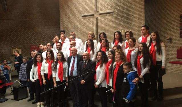 Het Saint George Edessa zingt 21 januari in De Ontmoeting. Eigen foto