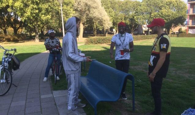 Freestyle rap bij Hobbemakade.