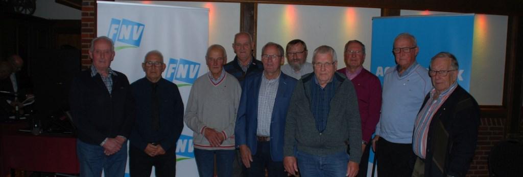 60 jaar lid bij de FNV. Foto: PR © Persgroep