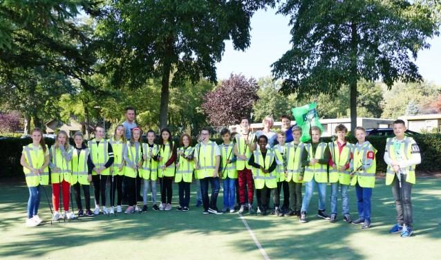 De kinderen van groep 8 van Basisschool De Hoeksteen in Leersum hebben er zin in.