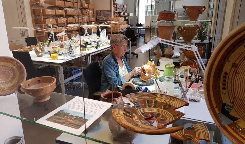 Doorkijkje Archeologie in het Stedelijk Museum Zutphen