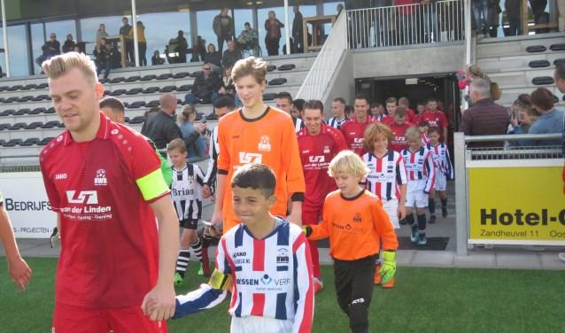 RWB heeft zaterdag met 2-2 gelijkgespeeld tegen Oosterhout.