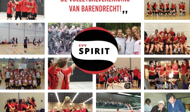 Volleybalvereniging Spirit is een actieve, bloeiende vereniging (Foto: CVV Spirit)