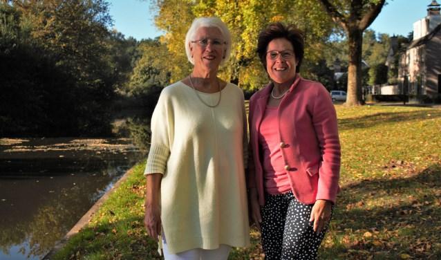 Mary van den Brand en Jeanne Heessels zijn de kartrekkers van het knooppuntenroutenetwerk en de wandelroutes in Vught.
