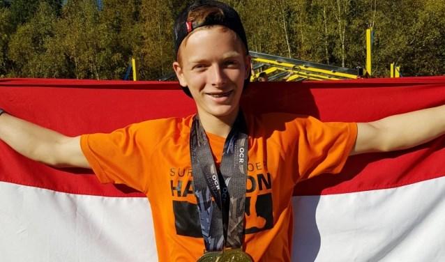 Stojn Lagrand goud en zilver op WK Obstacle Course Racing (OCR).