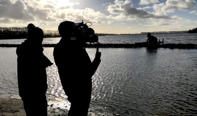 Opnames van Stormvloed in de Schelphoek. FOTO: PR