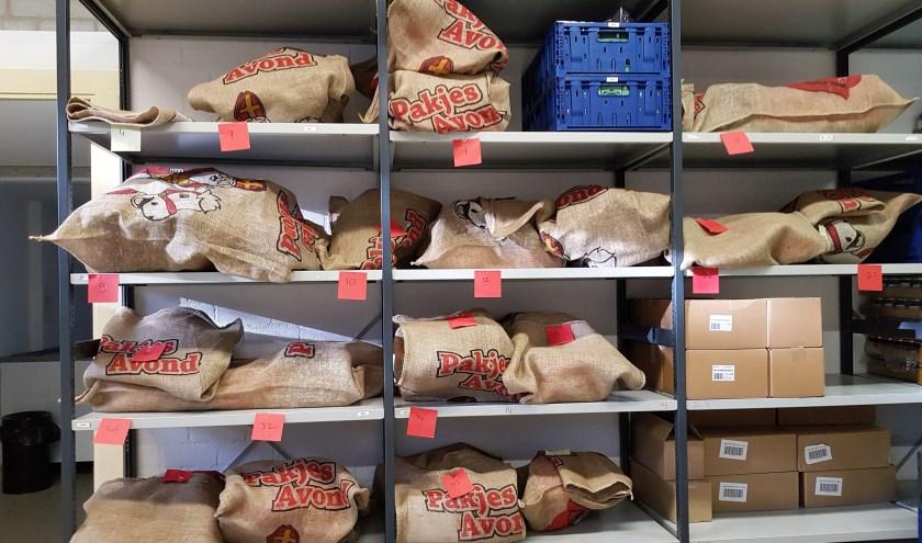 Voedselbank Bommelerwaard is weer gestart met de jaarlijkse inzameling voor sinterklaas.