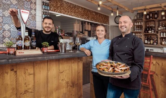 Alberto Lopez Silvosa en Monique van Lonkhuijzen namen het met hun team op tegen keukens uit het hele land. (Foto: Eike Michler)