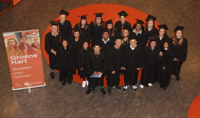 Deze leerlingen van Calvijn Het Groene Hart hebben zeker hun horizon verbreed. (Foto: Calvijn Groen Hart)